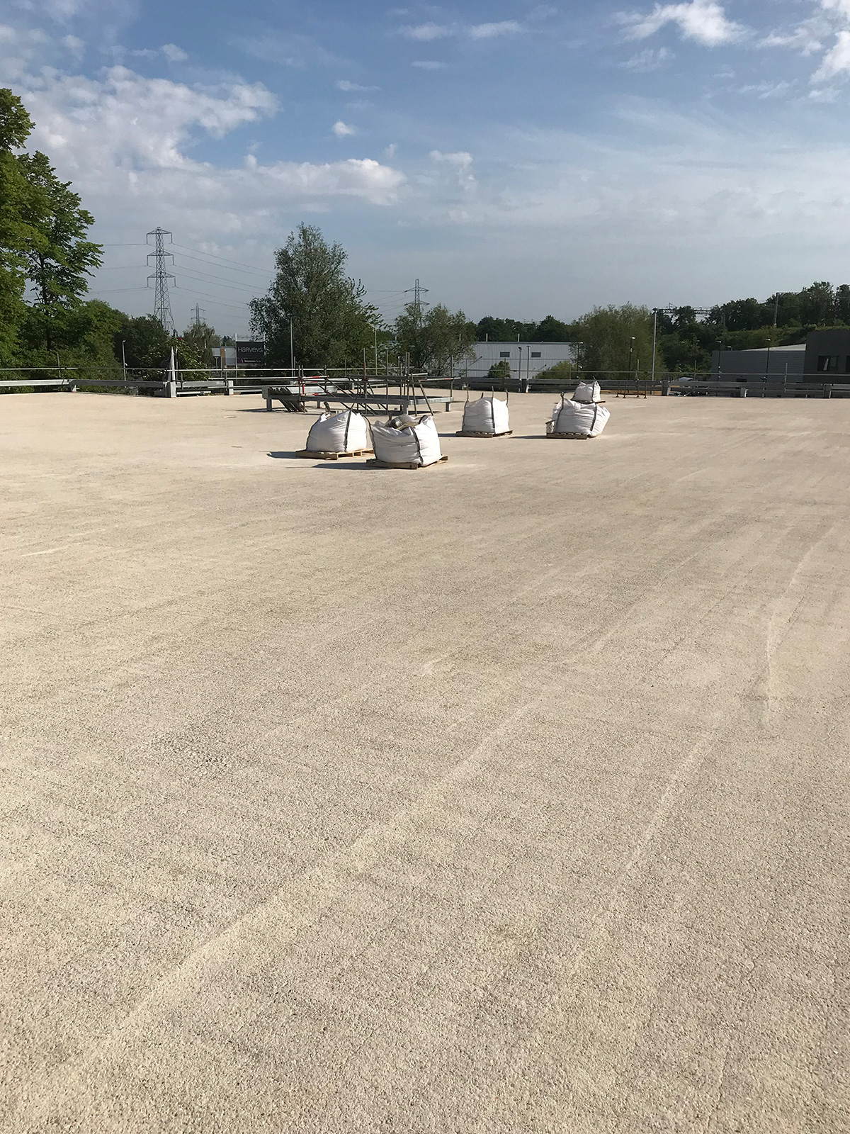 concrete roof preperation for resurfacing