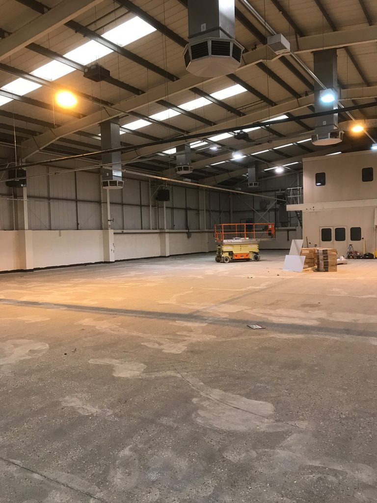 resurfacing of industrial floors