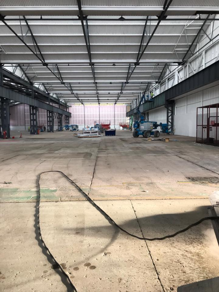 concrete floor cleaning and blasting