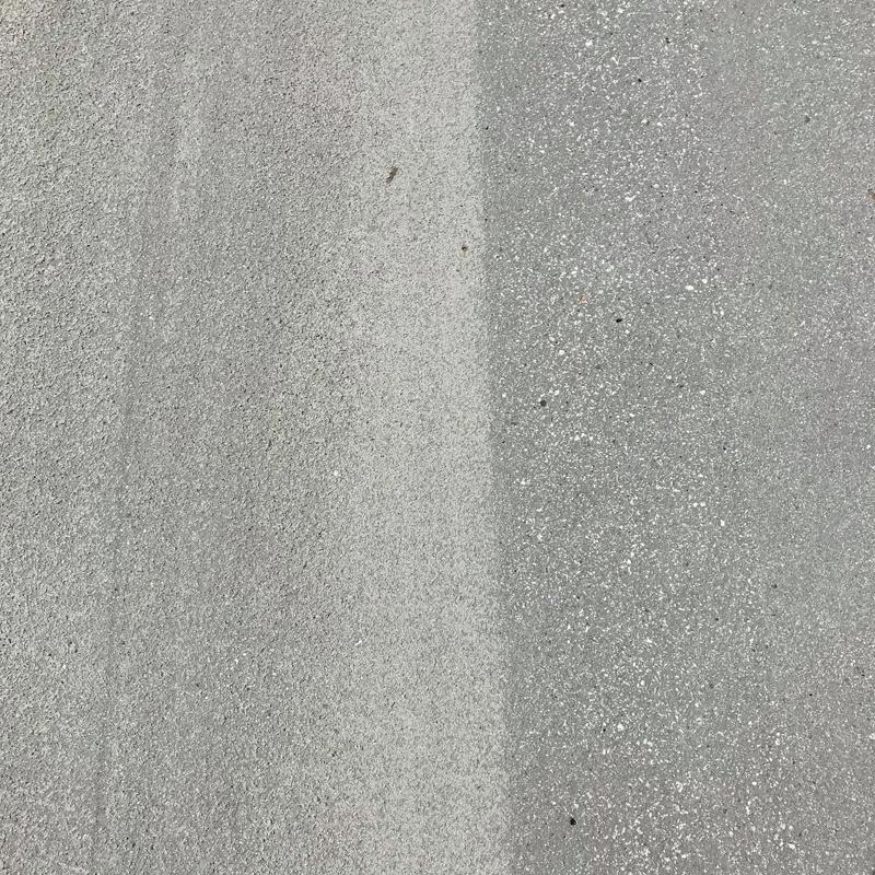 concrete surface after captive shot blasting