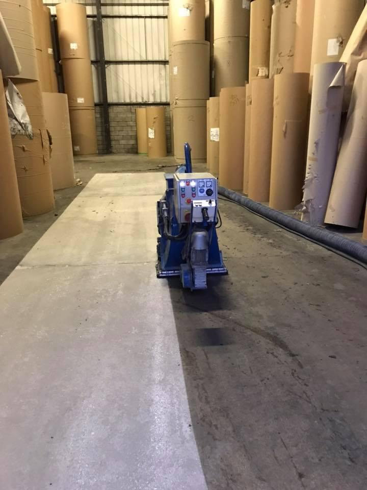 Anti-Slip Warehouse Flooring for Better Folk Lift Traction